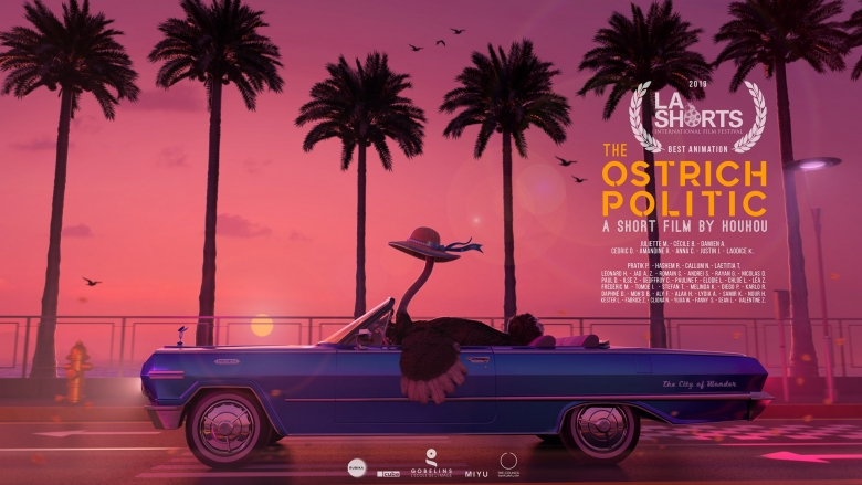 OSTRICH POLITIC ELIGIBLE FOR OSCARS 2020